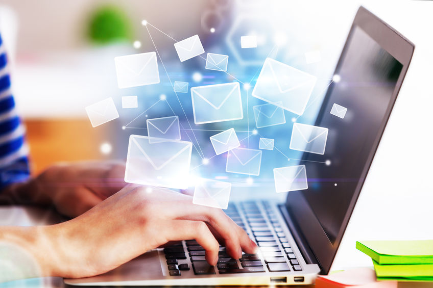 Email solutions offer customers real convenience